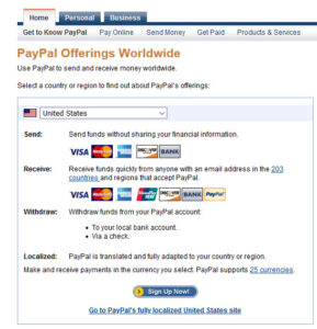 PayPal in USA